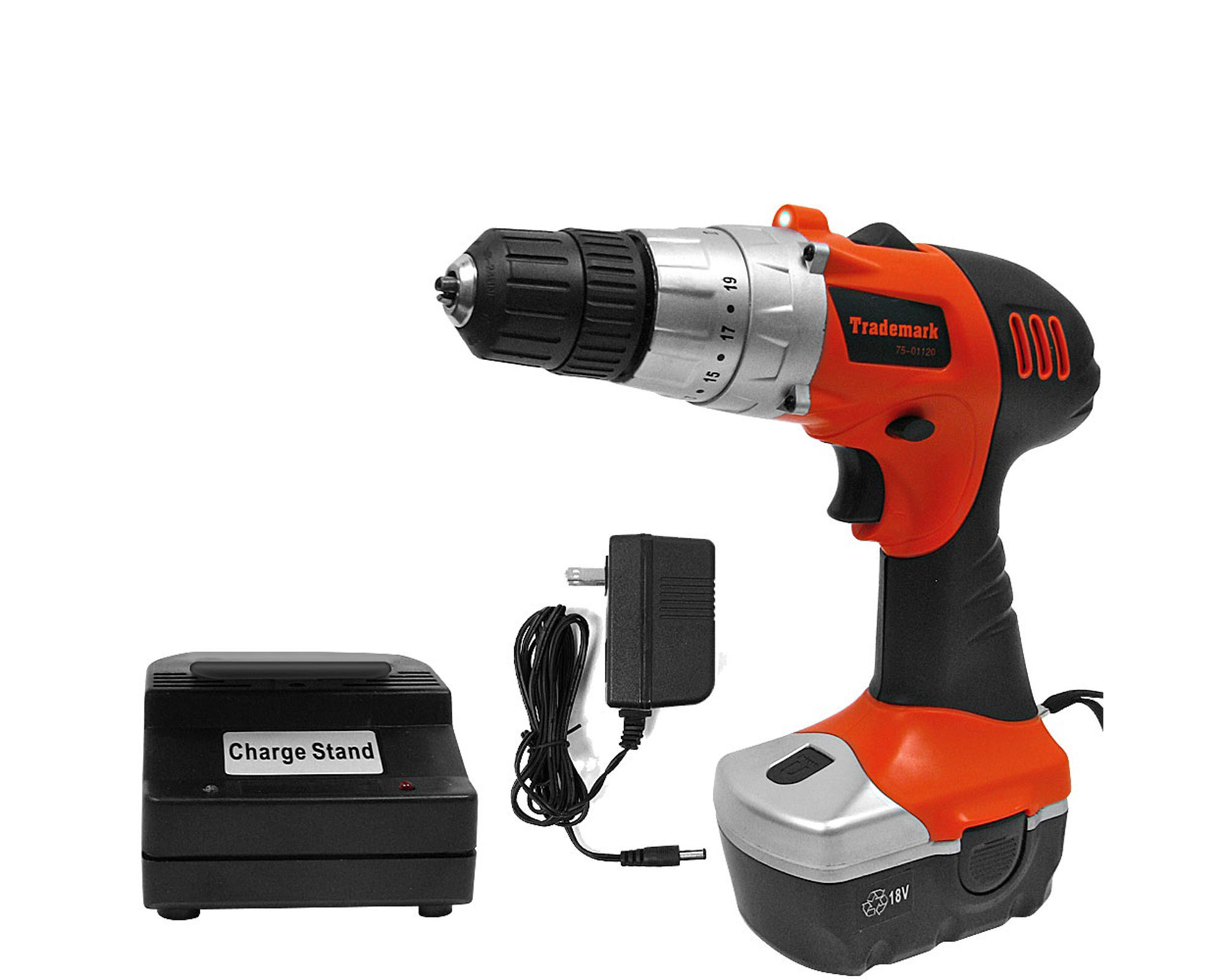 Stalwart Cordless Drill with LED Light