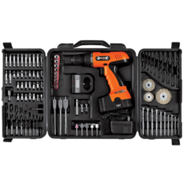 jcpenney.com | Stalwart™ 89-pc. Cordless Drill Set