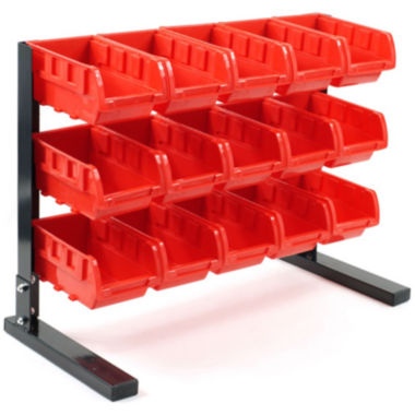 jcpenney.com | Stalwart™ 15-pc. Bench-Top Parts Rack