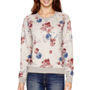 MNG by Mango® Long-Sleeve Floral Print Sweatshirt