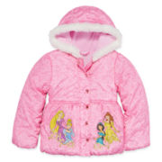 Disney Collection Princess Jacket - Girls 2-10