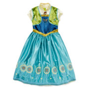 Disney Collection Frozen Fever Anna Costume - Girls 2-10