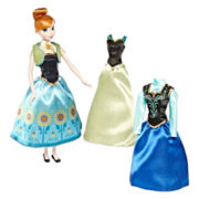 Disney Collection Anna Wardrobe Doll Set
