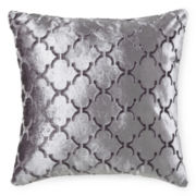JCPenney Home™ Velvet Ogee Decorative Pillow