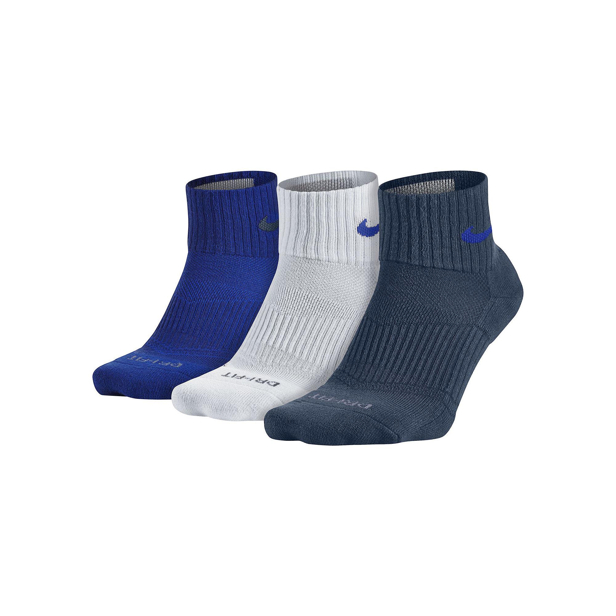 upc 888409179905 nike 3 pk dri fit quarter socks. Black Bedroom Furniture Sets. Home Design Ideas