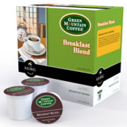 K-Cup® Breakfast Blend Coffee Packs by Green Mountain