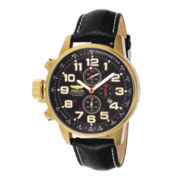 Invicta® Mens 18K Gold-Plated Lefty Chronograph Watch