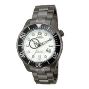 Invicta® Grand Diver Mens Gunmetal Watch