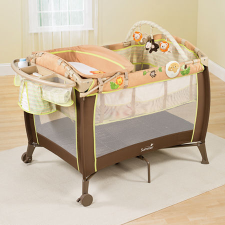 Summer Infant Grow with Me Playard and Changer - Swingin Safari