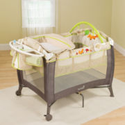 Summer Infant® Grow with Me Playard and Changer - Fox & Friends