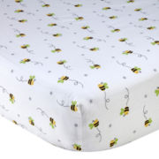 Wendy Bellissimo™ Honey Bee Fitted Crib Sheet