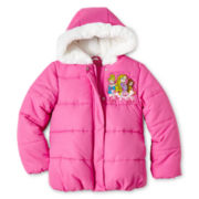 Disney Princess Puffy Midweight Jacket
