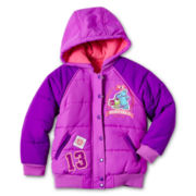Disney Monster U Girls Puffy Jacket