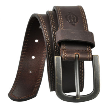 jcpenney.com | Dickies® Brown Leather Belt