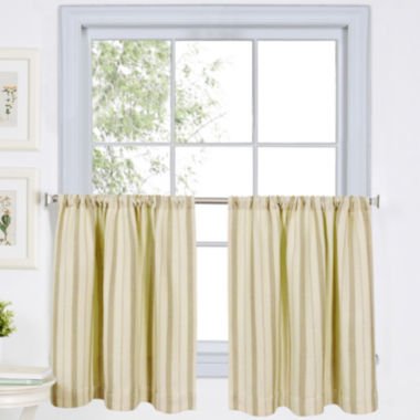 jcpenney.com | Updated Ticking Rod-Pocket Window Tiers