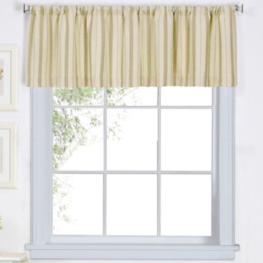 jcpenney.com | Updated Ticking Rod-Pocket Valance