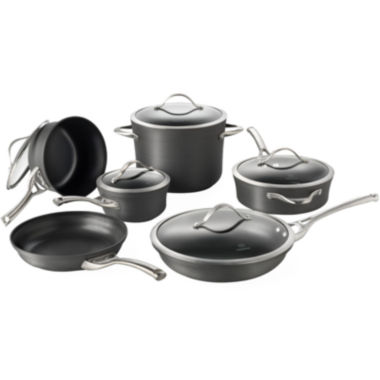 jcpenney.com | Calphalon® Contemporary 11-pc. Nonstick Cookware Set