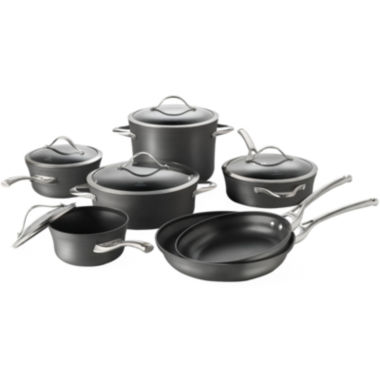 jcpenney.com | Calphalon® Contemporary 12-pc. Nonstick Cookware Set