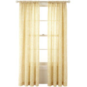 MarthaWindow™ Emporium Rod-Pocket/Back-Tab Curtain Panel