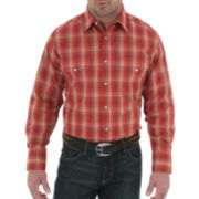 Wrangler® Long-Sleeve Wrinkle-Resistant Shirt