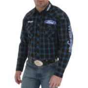 Wrangler® Long-Sleeve Western Logo Shirt