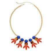 Mixit™ Gold-Tone Multicolor Bib Necklace