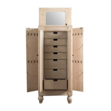 jcpenney.com | Hives and Honey Celine White Jewelry Armoire