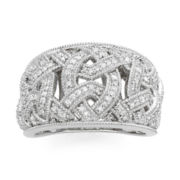 Vintage Inspirations™ 1/4 CT. T.W. Diamond Weave Ring