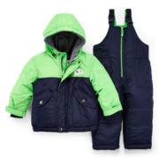 Carter's® 2-pc. Colorblock Snowsuit – Boys 12m-24m