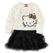 Hello Kitty® Lace Tutu Dress - Girls 2t-6
