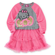 Hello Kitty® Raglan Tutu Dress - Girls 2t-6