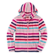 Arizona Microfleece Full-Zip Hoodie - Girls 6-16