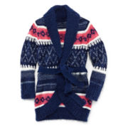 Arizona Fair Isle Wrap Cardigan - Girls 6-16