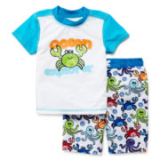 Baby Buns 2-pc. Ocean Explorer Swim Set – Boys 2t-4t