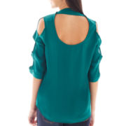 by&by Ladder-Sleeve Top