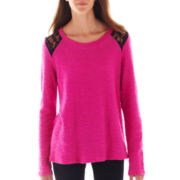 Olsenboye® Long-Sleeve Lace Top