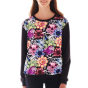 Olsenboye® Scuba Knit Sweatshirt