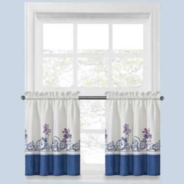 jcpenney.com | Afternoon Tea Rod-Pocket Window Tiers