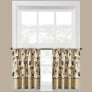 Coffee Shoppe 2-Pack Rod-Pocket Window Tiers