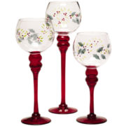Pfaltzgraff® Winterberry 3-pc. Candle Holder Set