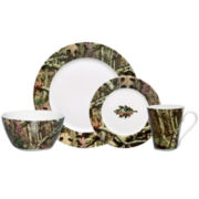 Mossy Oak® 16-pc. Porcelain Dinnerware Set