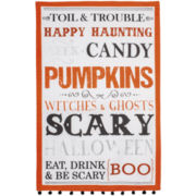 Ladelle® Halloween Toil & Trouble Dish Towel