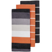 Ladelle® Harriot Set of 3 Woven Dish Towels