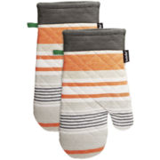 Ladelle® Nanterre Set of 2 Oven Mitts
