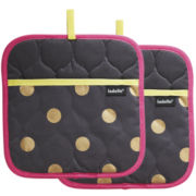 Ladelle® Nadine Set of 2 Potholders