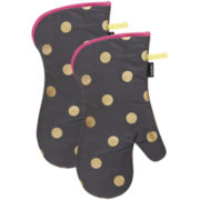 Ladelle® Nadine Set of 2 Oven Mitts