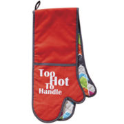 Ladelle® Life Can Get Messy Double Oven Mitt