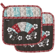Ladelle® Yumi Set of 2 Potholders