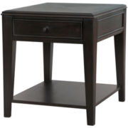 "Stanford Single-Drawer 25"" End Table"