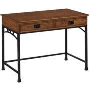 Langsford Distressed Oak Student Desk